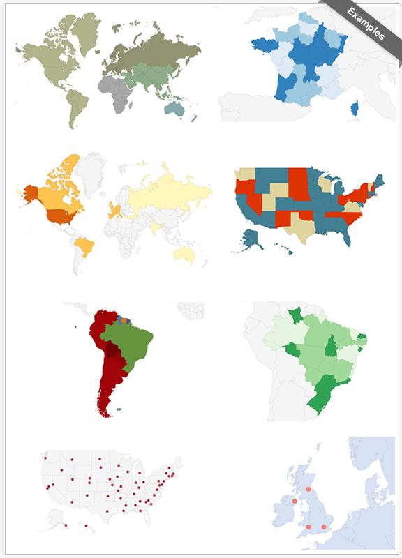 Interactive World Maps 1