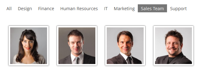 Alle Ontwerp Financiën Human Resources Marketing Sales Team Ondersteuning iii