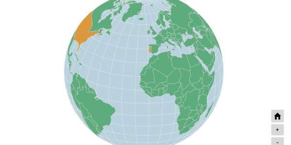 Interactive Globe Map
